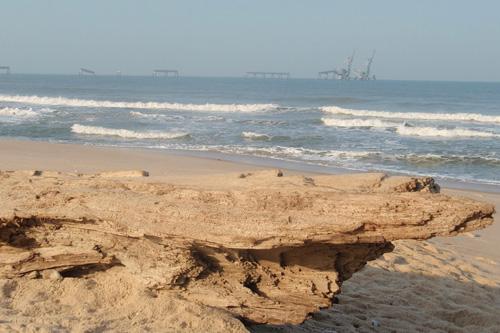 Pointe Noire Congo plage côte sauvage